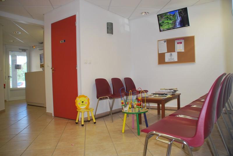 Salle d'attente du cabinet médical